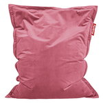 Original Slim Velvet bean bag, deep blush
