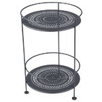 Guinguette table, anthracite