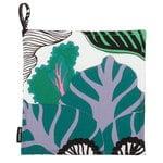 Kaalimets� pannulappu, valkoinen-vihre�-violetti