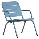 Ray lounge chair, blue