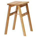 Angle stool, oak