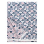 Tulppaani blanket 130 x 240 cm, rose - blue