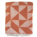 Twist a Twill throw, rust