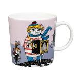 Moomin mug, Tooticky, purple