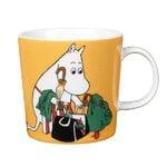 Moomin mug, Moominmamma, apricot