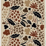 Suvi fabric, beige - brown