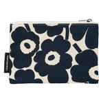 Kaika Mini Unikko pouch, dark blue