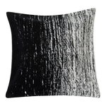 Kuiskaus cushion cover 50 x 50 cm, black - white