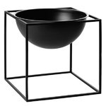 Kubus Bowl, large, black