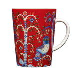 Taika mug 4 dl, red