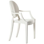 Louis Ghost chair, white