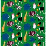 Marimekko Iso Tiikoni fabric, green