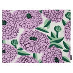 Pieni Primavera coated placemat, off white-violet-green