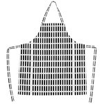Siena apron, black