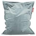 Original Slim Velvet bean bag, calcite blue