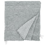 Nyytti giant towel, white - grey