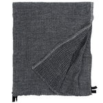Nyytti giant towel, black - grey