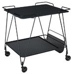 Mategot trolley, black