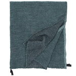 Nyytti giant towel, black - green