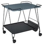 Mategot trolley, blue grey