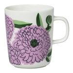 Oiva - Primavera mug 2,5 dl, white-lilac-green