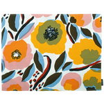 Rosarium coated cotton placemat