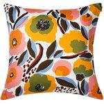 Rosarium cushion cover  50 x 50 cm, white