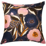 Rosarium cushion cover 50 x 50 cm, dark grey
