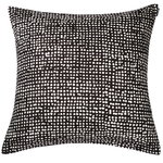 Orkanen cushion cover 50x50 cm, dark grey - off white