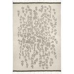 Saaristo matto 170 x 240 cm, valkoinen - harmaa