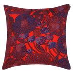 Fodera per cuscino Mynsteri 50 x 50 cm, rosso - blu