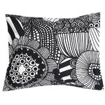 Siirtolapuutarha pillowcase, black-white
