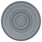 Iittala Kastehelmi plate 315 mm, dark grey