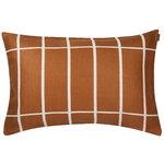 Tiiliskivi cushion cover 40 x 60 cm, copper - white