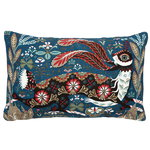 Running Hare cushion cover, linen