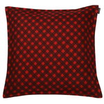 Okko cushion cover, red-plum