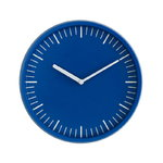 Day wall clock, blue