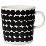 Oiva - Räsymatto mug 4 dl, black