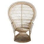 Peacock-tuoli, luonnonv�rinen/ hiekka