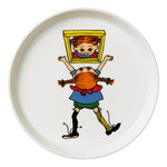 Pippi plate 19 cm, My Name is Pippi