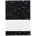 Daily Fiction notebook, large, space stone dark