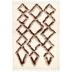 Finarte Tie rug 200 x 300 cm, brown