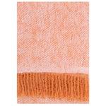 Revontuli mohair blanket, rust - rose