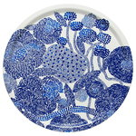 Mynsteri tray, white - blue
