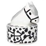 Marimekko Lempiheppa collectible box, white - black - grey