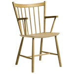 J42 chair, matt lacquered oak