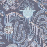 Ice Palace Blue wallpaper, pinnoittamaton