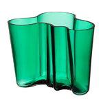 Aalto maljakko 160 mm, smaragdi