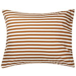 Tasaraita pillowcase,  off white - brown