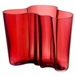 Vaso Aalto 160 mm,  cranberry